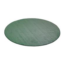 Kulatý koberec Kalle, Ø4000 mm, zelený