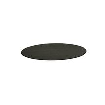Kulatý koberec Adam, Ø 2500 mm, antracitově šedá