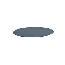 Kulatý koberec Adam, Ø 2500 mm, modrošedá