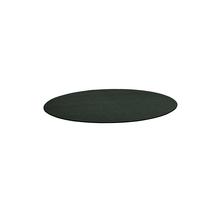 Kulatý koberec Adam, Ø 2500 mm, tmavě zelená
