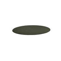 Kulatý koberec Adam, Ø 2500 mm, mechově zelená