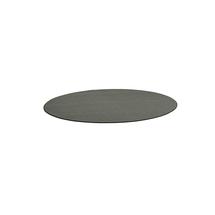 Kulatý koberec Adam, Ø 2500 mm, světle šedá