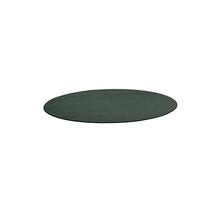 Kulatý koberec Adam, Ø 2500 mm, zelená