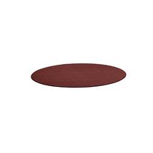 Kulatý koberec Adam, Ø 2500 mm, červená