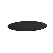 Kulatý koberec Adam, Ø 3000 mm, tmavě šedá