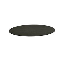 Kulatý koberec Adam, Ø 3000 mm, antracitově šedá