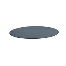 Kulatý koberec Adam, Ø 3000 mm, modrošedá