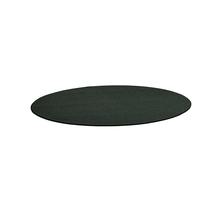 Kulatý koberec Adam, Ø 3000 mm, tmavě zelená