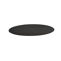 Kulatý koberec Adam, Ø 3000 mm, tmavě hnědá
