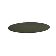 Kulatý koberec Adam, Ø 3000 mm, mechově zelená