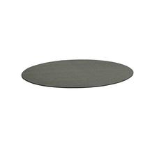 Kulatý koberec Adam, Ø 3000 mm, světle šedá