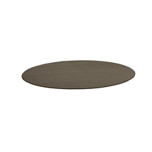 Kulatý koberec Adam, Ø 3000 mm, hnědá