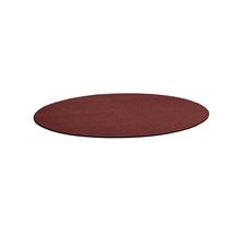Kulatý koberec Adam, Ø 3000 mm, červená