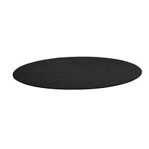 Kulatý koberec Adam, Ø 3500 mm, tmavě šedá
