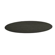 Kulatý koberec Adam, Ø 3500 mm, antracitově šedá