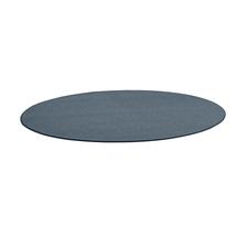 Kulatý koberec Adam, Ø 3500 mm, modrošedá