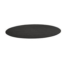 Kulatý koberec Adam, Ø 3500 mm, tmavě hnědá