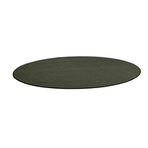 Kulatý koberec Adam, Ø 3500 mm, mechově zelená