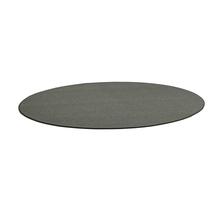 Kulatý koberec Adam, Ø 3500 mm, světle šedá