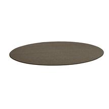 Kulatý koberec Adam, Ø 3500 mm, hnědá