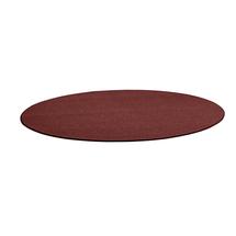 Kulatý koberec Adam, Ø 3500 mm, červená