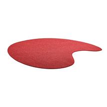 Koberec Leon, 2000x2000 mm, červený
