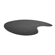 Koberec Leon, 2000x2000 mm, tmavě šedý