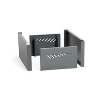 Krycí panel přední/zadní, š, 300 mm, šedý