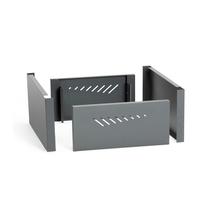 Krycí panel přední/zadní, š, 400 mm, šedý