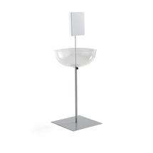 Prodejní stojan s plastovou mísou